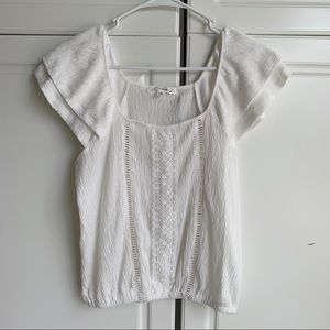 NWT Caution To The Wind white blouse